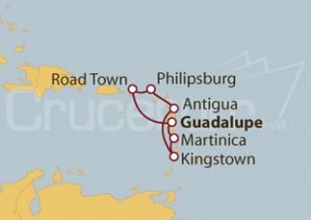 Crucero Antillas e Islas Vírgenes