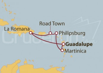 Crucero Antillas, Rep. Dominicana e Islas Vírgenes