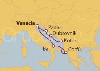 Crucero Mediterráneo Secreto
