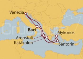 Crucero Italia e Islas Griegas