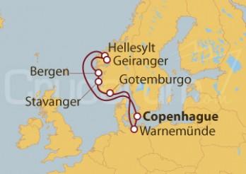 Crucero Dinamarca, Noruega y Alemania