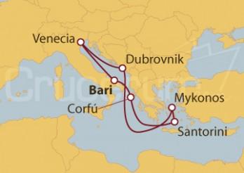 Crucero Mar Adriático e Islas Griegas