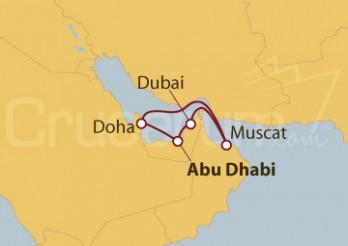 Crucero Emiratos Árabes Unidos y Omán