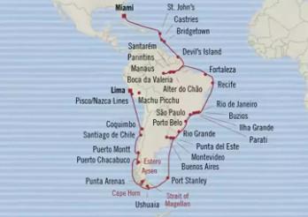 Crucero De Flores a Fiordos