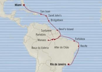 Crucero Amazonas Impactantes