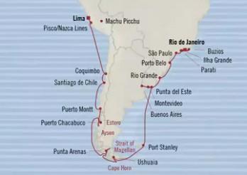 Crucero Rutas de Sudamérica