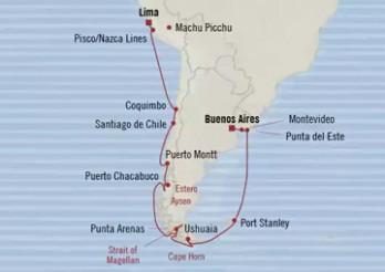 Crucero Fiordos Místicos