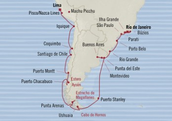 Crucero Patagonia Mística