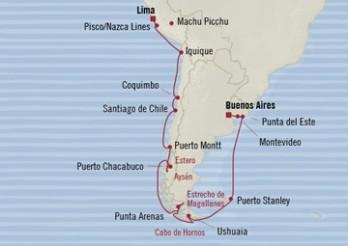 Crucero De Buenos Aires a Lima: Alrededor del Cabo