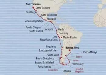 Crucero Iconos del Pacífico y del Atlántico
