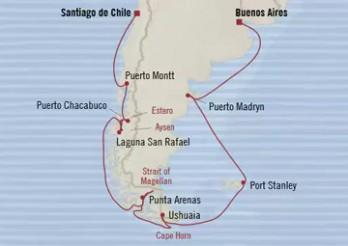 Crucero Picos y Fiordos