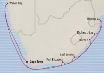 Crucero El Toque Africano