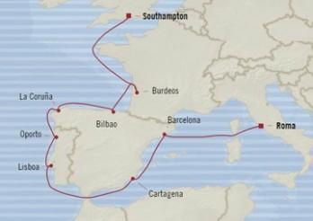 Crucero Escapada a Europa Occidental