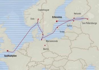 Crucero Felicidad en el Báltico