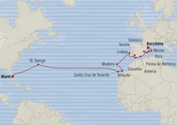 Crucero Estadía Transatlántica