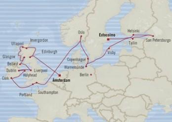 Crucero Esplendor del Mar del Norte