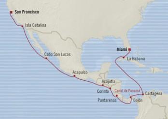 Crucero Tesoros del Pacífico