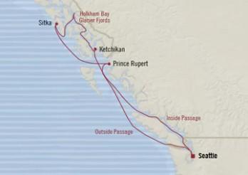 Crucero Esplendor de Alaska