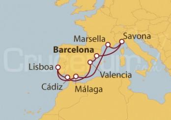 Crucero Dulce Mediterráneo