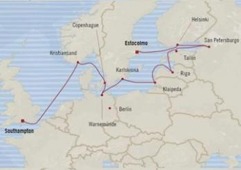 Crucero Estadía en Europa del Norte
