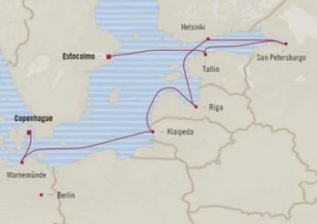 Crucero Tesoros Escandinavos