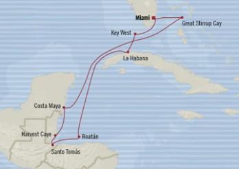 Crucero Celebración en el Caribe