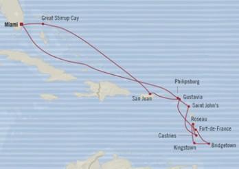 Crucero Perlas del Caribe