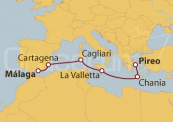 Crucero Atenas y la ruta de los fenicios