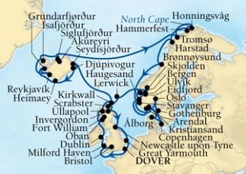 Crucero Gran Viaje por el Norte de Europa