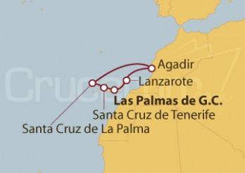 Crucero Islas Canarias y Marruecos