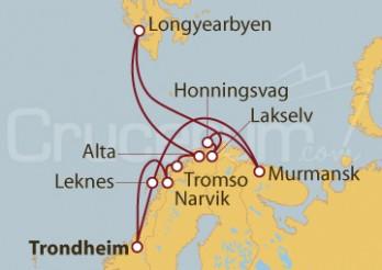 Crucero Expedición al Círculo Polar