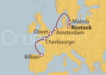 Crucero Del Norte al Sur Europeo