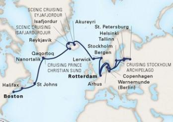 Crucero Joyas del Báltico y Travesía Vikinga