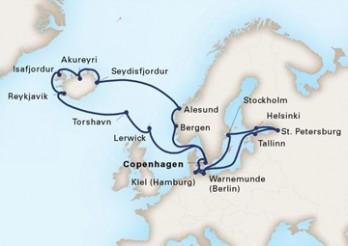 Crucero Hechizo En El Báltico Y Las Islas Del Norte
