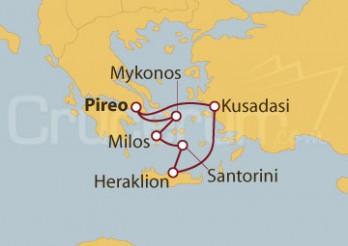 Crucero Egeo Idílico
