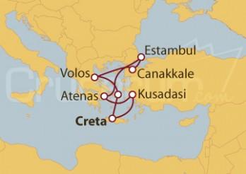 Crucero Turquía y Grecia