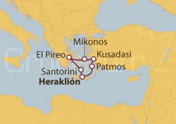 Crucero Grecia y Turquía