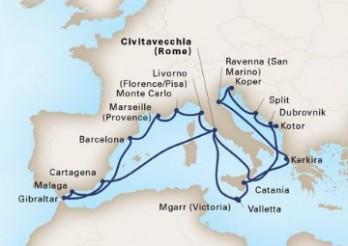 Crucero Lo Mejor del Mediterráneo