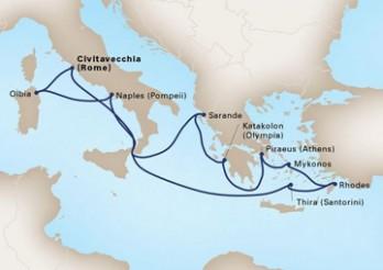 Crucero Imperios Antiguos