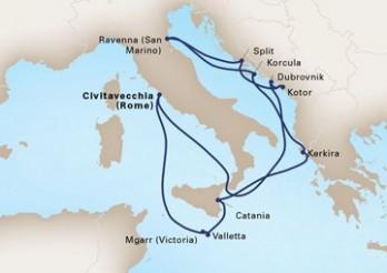 Crucero Leyendas del Mediterráneo