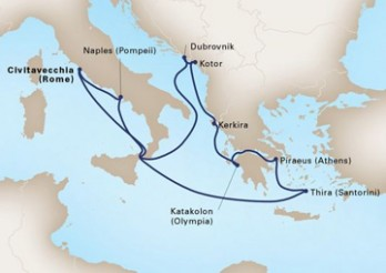 Crucero Mosaico Mediterráneo