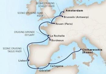 Crucero Viaje de Exploración por los Ríos de Europa