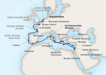 Crucero Viaje de Exploración por los Ríos de Europa y Tierra Santa