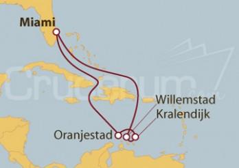 Crucero Antillas Holandesas desde Fort Lauderdale (EE UU)