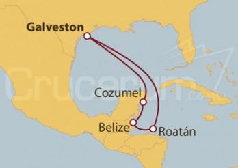 Crucero Honduras, Belize y México