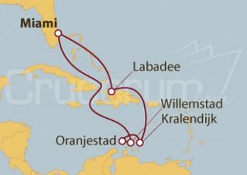 Crucero Antillas Holandesas desde Miami