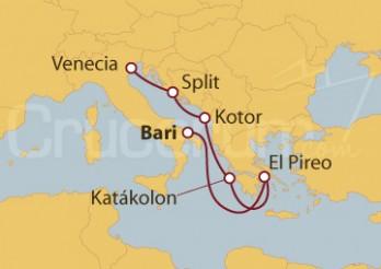 Crucero Culturas del Mediterráneo