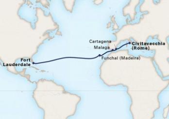 Crucero Travesía a América