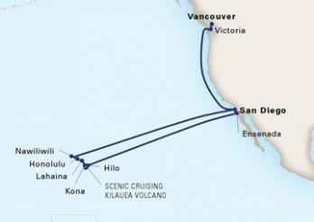 Crucero Recorrido por Hawái