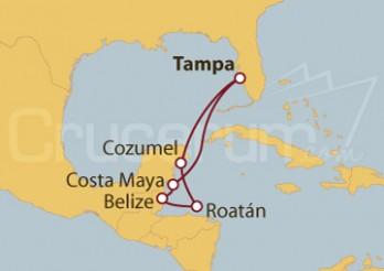 Crucero México, Belize y Honduras